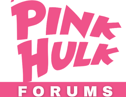 The Pink Hulk Forums Logo - Final